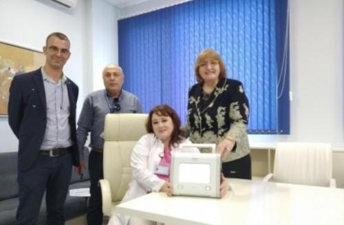Болницата получи още едно значимо дарение за справяне с епидемичната обстановка от COVID-19