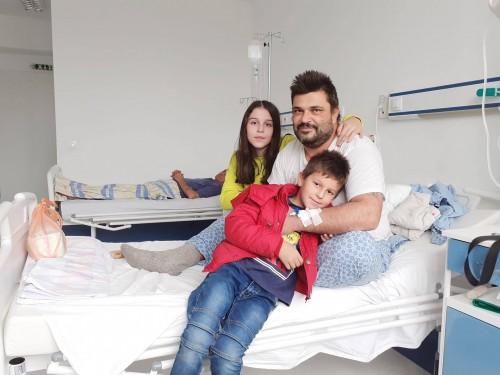 Сам баща на 2 деца се нуждае от помощ срещу коварно заболяване