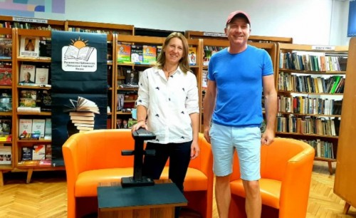 Видинската библиотека получи скенер като дарение