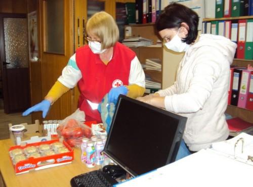 БЧК- Пазарджик започва раздаването на хранителни пакети на социално слаби