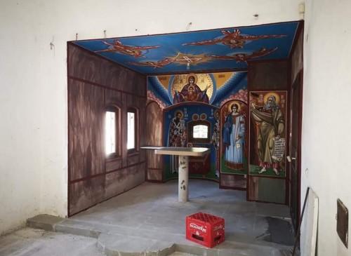 """В храм """"Св. Йоан Предтеча"""" се строи параклис за зимно богослужение"""