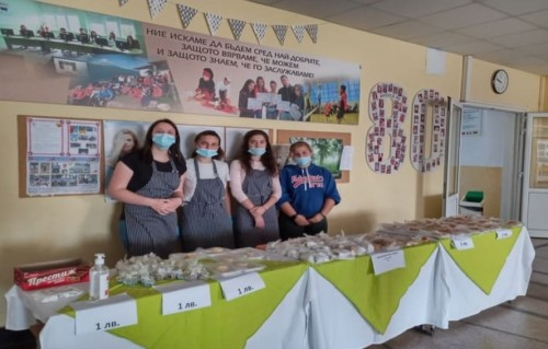 340 лв от благотворителна инициатива на троянски абитуриенти