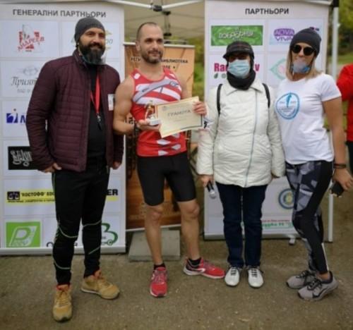 Варненец пробяга 35 км с благотворителна кауза