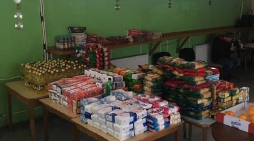 Пакети с храна за хора в нужда бяха раздадени в столицата