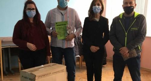 Дигитални устройства и хардуер бяха дарени на осем социални услуги във Велико Търново