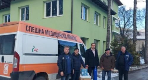 Дариха апарати за обдишване на спешната помощ в Сърница