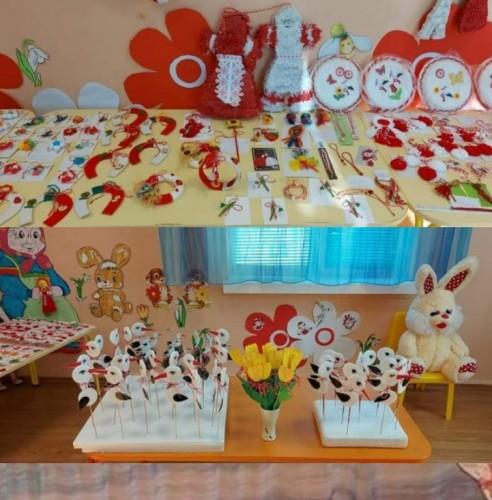 """Малчугани от """"Бургаско детство"""" радват 1500 възрастни хора с ръчно изработени мартенички"""