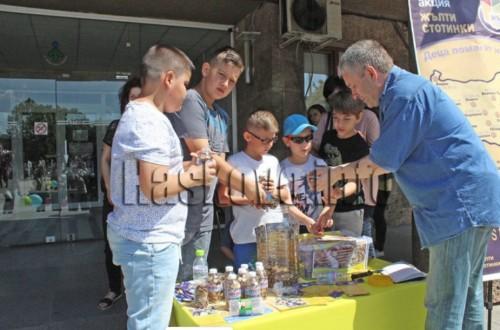 """Акцията """"Жълти стотинки"""" за Деня на детето в Хасково"""