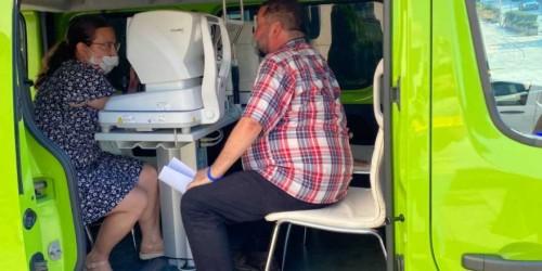 Близо 100 желаещи прегледаха безплатно зрението си в мобилен кабинет във Велико Търново