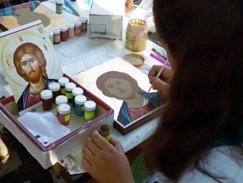 Завърши интензивният курс по иконопис за младежи във Варна