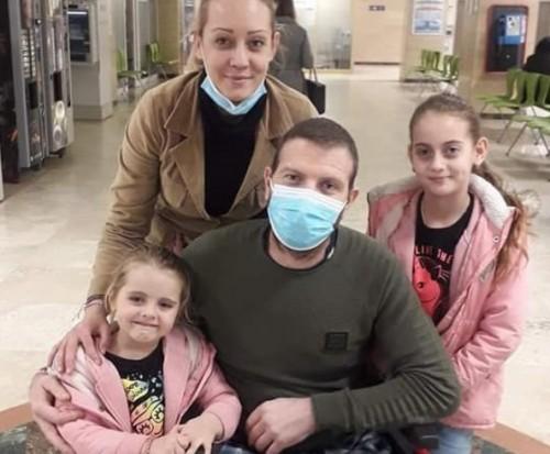 За 2 дни събраха пари за протеза за младия татко на две деца от Горско Ново село, чийто дом изгоря