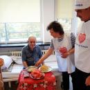 Служители на реда сготвиха благотворителен обяд за обитателите на хоспис в Кърджали