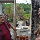 Семейство Начеви благодарят на хората, които им помогнаха след пожара в дома им