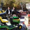Наш сънародник в чужбина дари техника за косене на тревни площи в родния си край