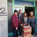 Зума дари кроасани на нуждаещи се в Пловдив