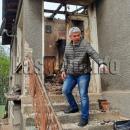Мъж пострада, за да спаси възрастна жена от огъня